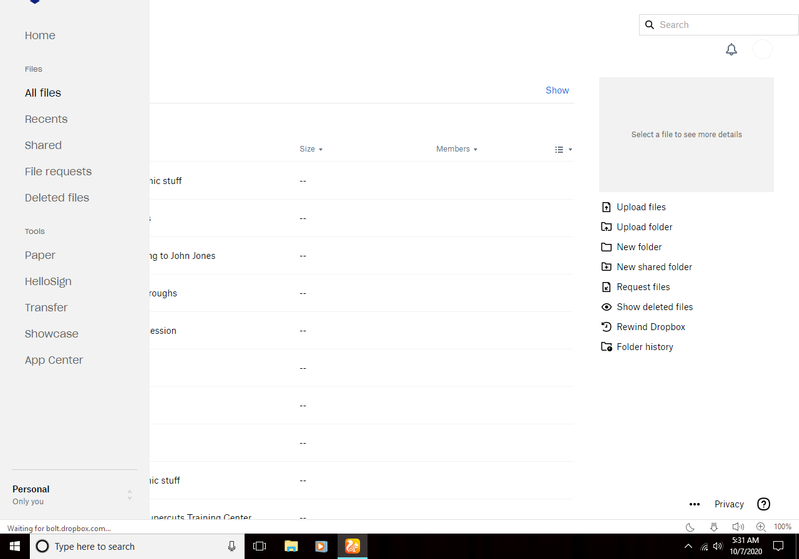 screenshot of Dropbox folder.png
