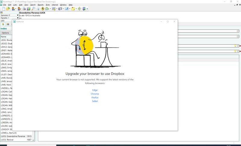Screenshot Dropbox Browser Error Message.jpg