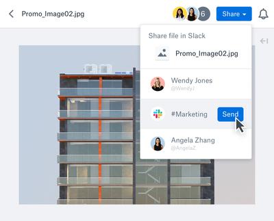 Dropbox Slack integration