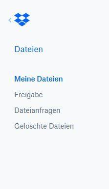 Screenshot in German