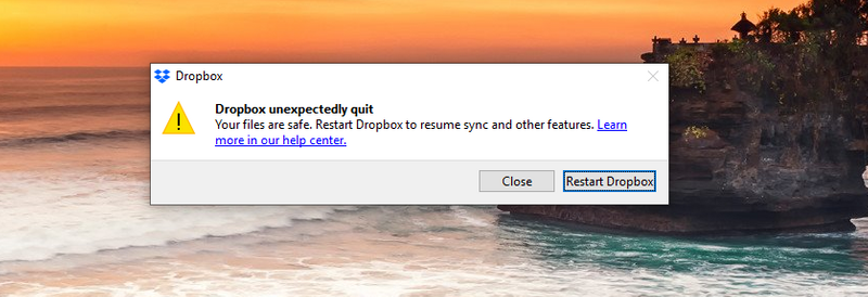 Capture DROPBOX error.PNG