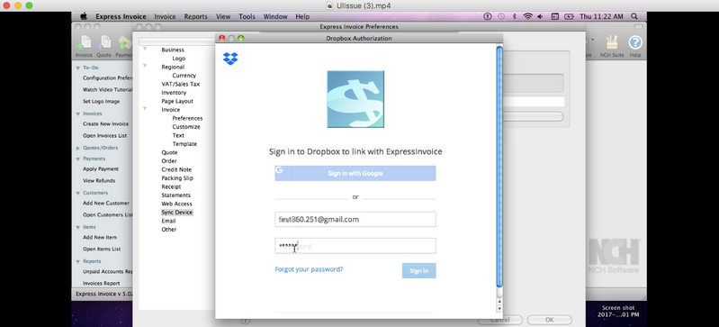 Solved: Dropbox API v2 on MAC OSX 10 6 login issue GUI iss