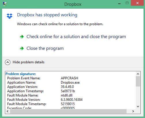 Stable Build 39.4.49 - Dropbox Community - 252619