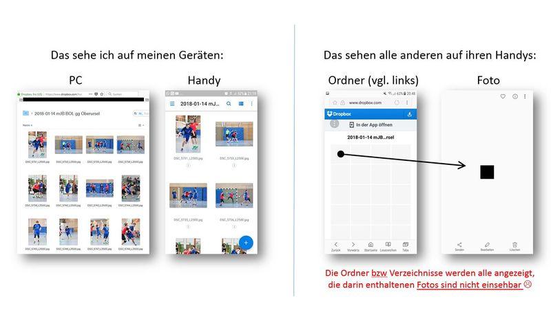 Dateien Auf Pclaptop Sichtbar Aber Auf Handy An Dropbox