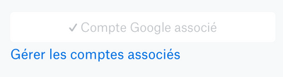 Pb de connexion Gmail agenda / Dropbox Paper
