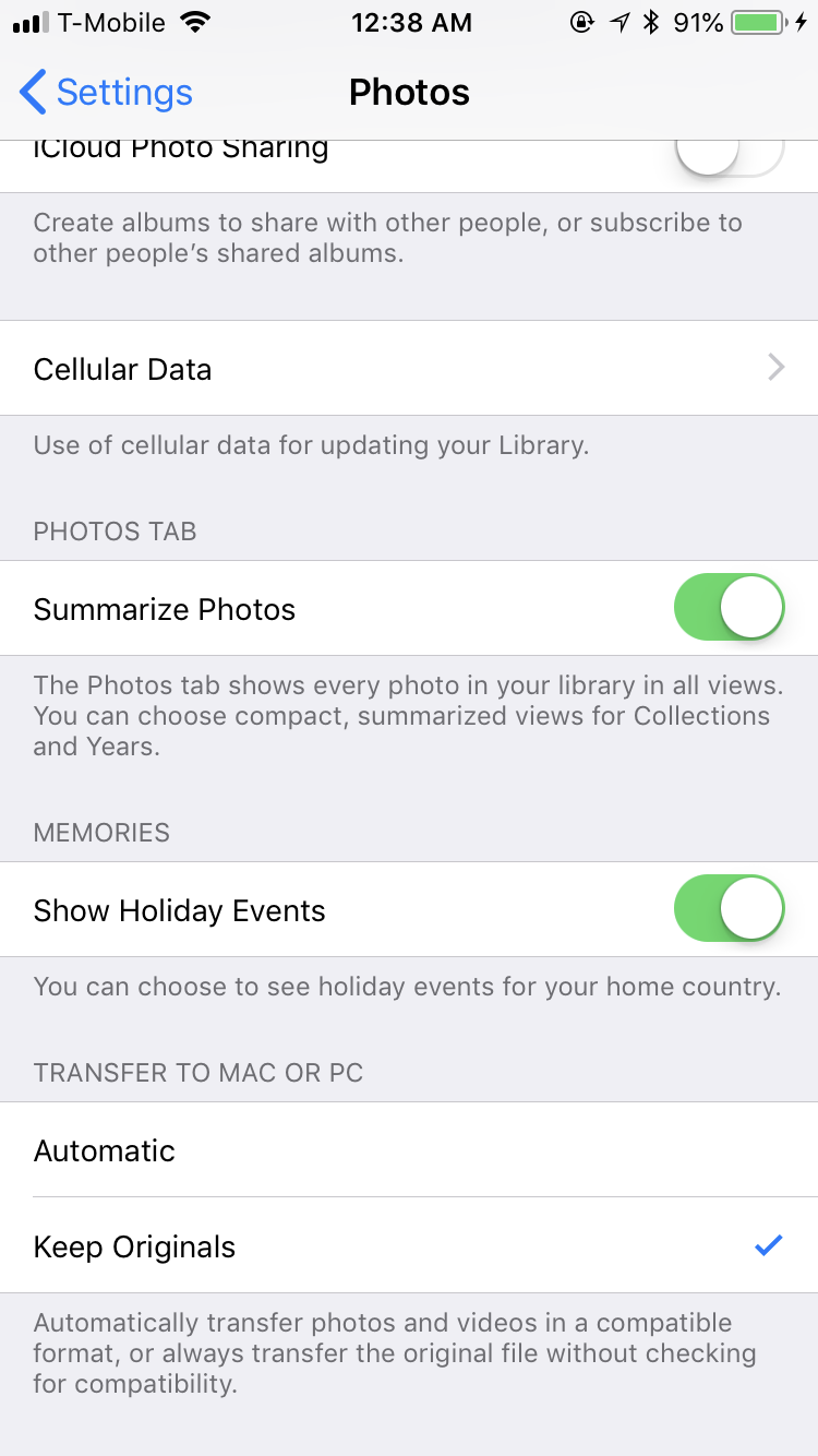 Solved: Camera Upload Error on Mac OS High Sierra/ Photos