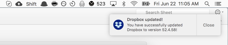 Solved Issue With The Dropbox Application V52 Freezing Page