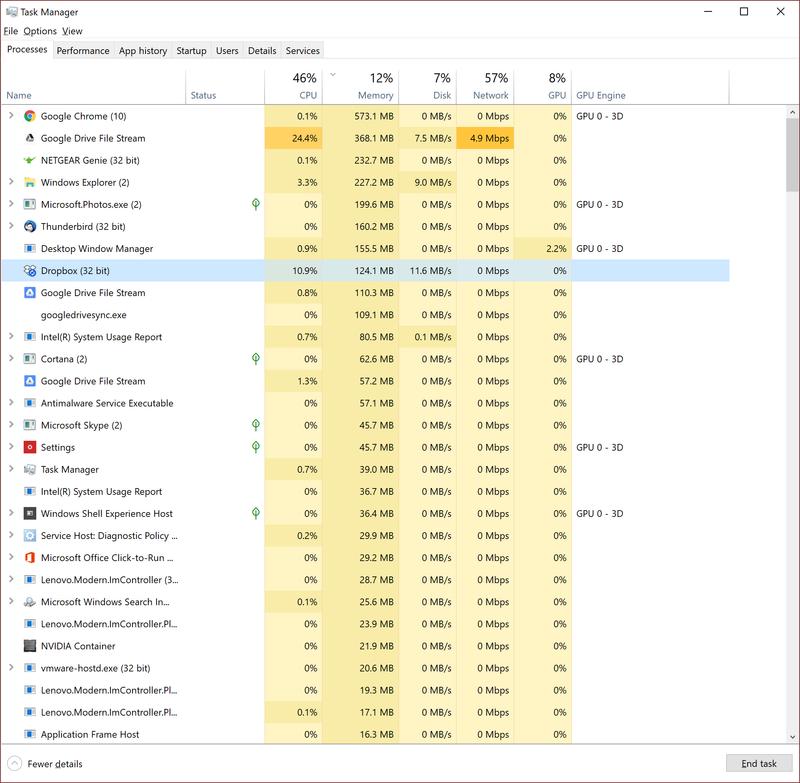 Solved: Desktop app crashes in Windows 10 64-bit - Page 2 - Dropbox