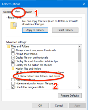 Solved: Files not showing in explorer, but can be opened v