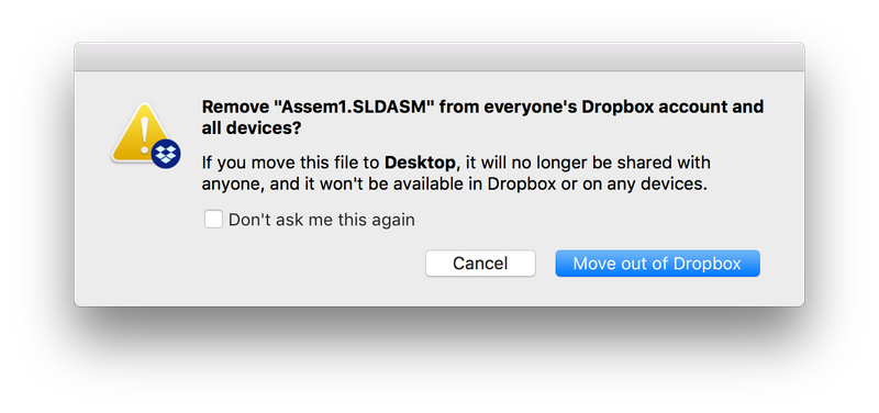 Solved Error Messages Whenever Moving Anything Out Of Dro