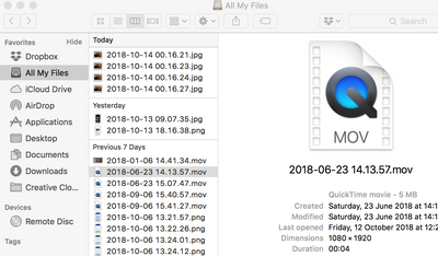 Solved:  mov files not playing on my mac - Dropbox Community - 302730