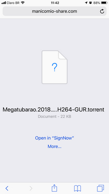 Solved: Re: Saving files from iPhone browser changes name