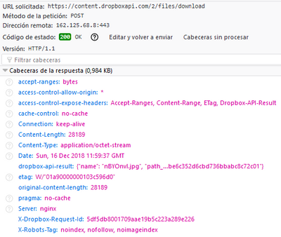 download file API JS