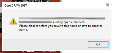 I keep getting an error when trying to save a file