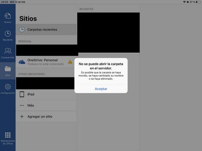 No puedo abrir mis archivos en mi ipad