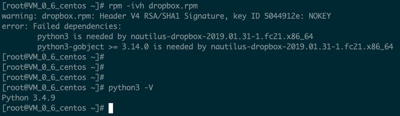 Solved: Centos 7 2 server install Dropbox - Dropbox