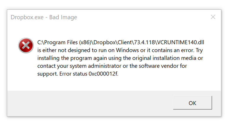 Solved Im Receiving An Error Message When Trying To Open