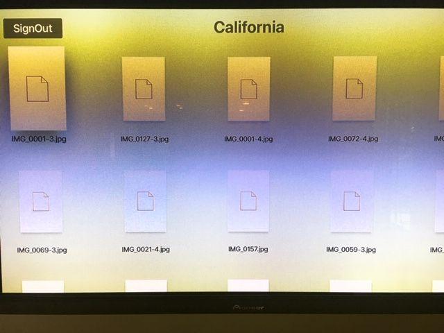 AppleTV DropboxApp not Displaying Pictures - Dropbox